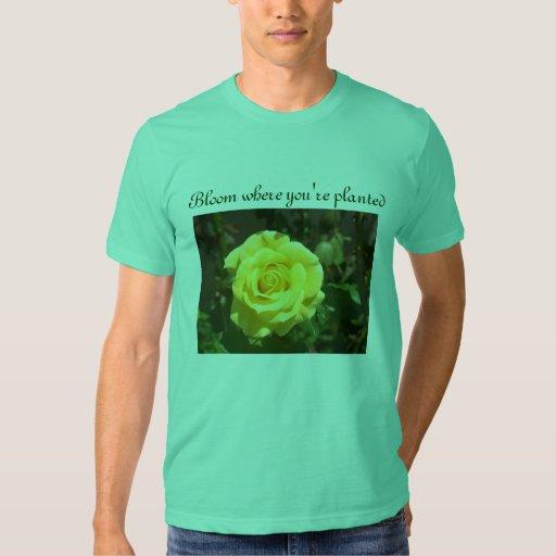 Bloom mens shirt