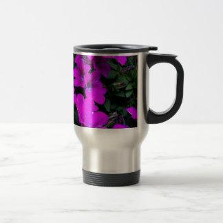 Bloom purple intoxication 15 oz stainless steel travel mug