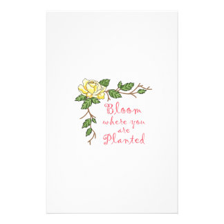 BLOOM... CUSTOMIZED STATIONERY