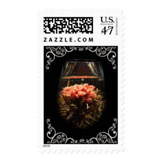 Bloom Tea 2 Postage Stamp