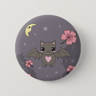 Bloom the Fruit Bat Button