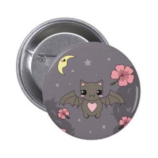 Bloom the Fruit Bat Button