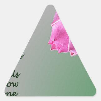 Bloom Triangle Sticker