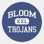 Bloom - Trojans - High - Chicago Heights Illinois Classic Round Sticker