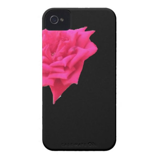 Bloom where planted (Black) iPhone 4 Case-Mate Case
