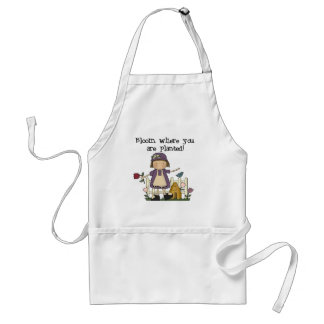 Bloom Where You Are Planted Apron