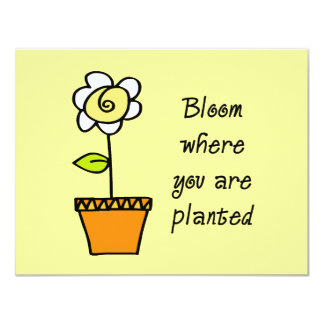 Bloom Where You Are Planted II Card