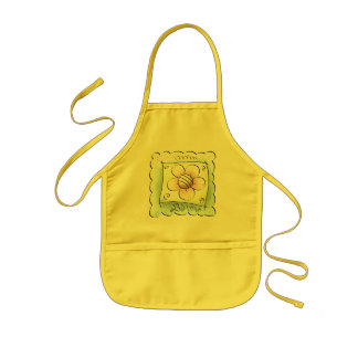 Bloom Where You Are Planted Kids' Apron