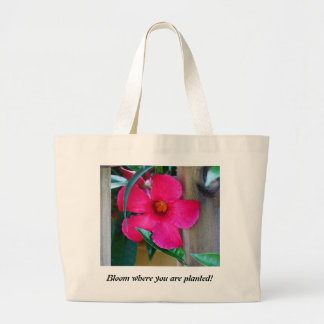 Bloom Where You Are Planted! Tote Bag