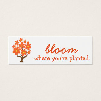 Bloom Where You're Planted Challenge Card