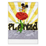 BLOOM WHERE YOU'RE PLANTED- GREETING CARD