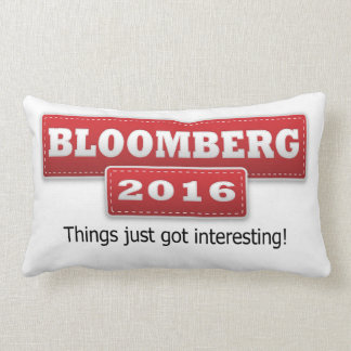 Bloomberg 2016 Things Just Got Interesting Lumbar Pillow