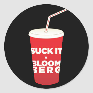 Bloomberg Soda Ban Protest stickers
