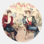 Bloomer Cigar Club Sticker