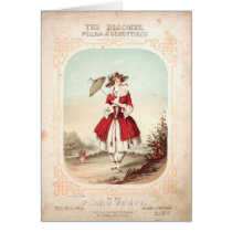 Bloomer Polka Card