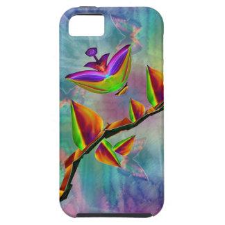 Bloomfasia Flower Art And Butterflies iPhone5 Case