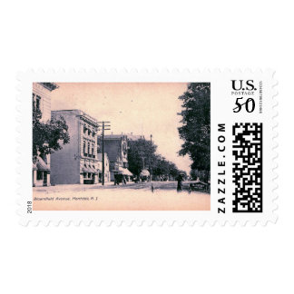Bloomfield Ave., Montclair, New Jersey Vintage Postage