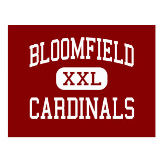 Bloomfield - Cardinals - High - Bloomfield Indiana Postcard