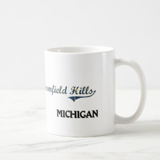 Bloomfield Hills Michigan City Classic Coffee Mug