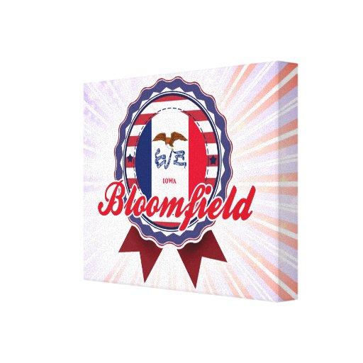 Bloomfield, IA Impresiones En Lienzo Estiradas