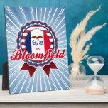 Bloomfield, IA Placa