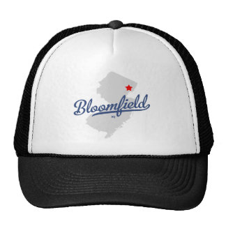 Bloomfield New Jersey NJ Shirt Trucker Hat