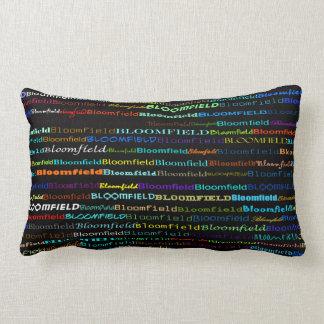 Bloomfield Text Design I Lumbar Pillow