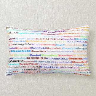 Bloomfield Text Design II Lumbar Pillow