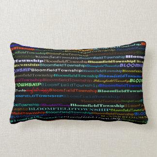Bloomfield Township Text Design I Lumbar Pillow