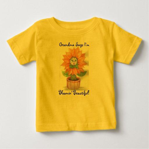 """Bloomin' Beautiful"" Baby T-Shirt"