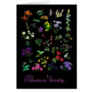 Bloomin' Beauty folded card