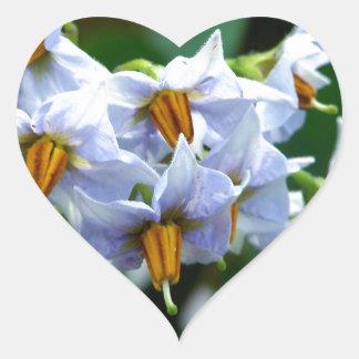 Bloomin' Taters Heart Sticker