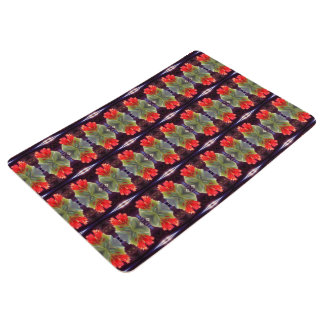 Blooming Agave Pattern Floor Mat
