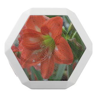 Blooming Amaryllis White Boombot Rex Bluetooth Speaker