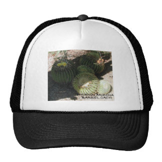 BLOOMING BARREL CACTI AND ASSORTED PHRASES TRUCKER HATS