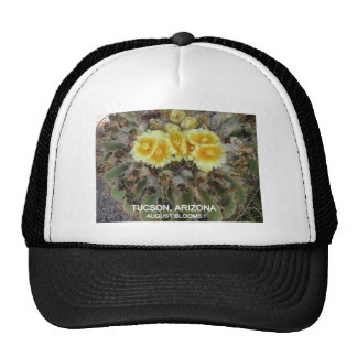 BLOOMING BARREL CACTI AND PHRASES TRUCKER HAT
