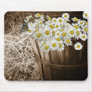 Blooming Basket Mouse Pad