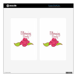 Blooming Beauty Skin For Kindle Fire
