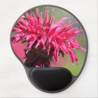 Blooming Bee Balm Gel Mouse Pad