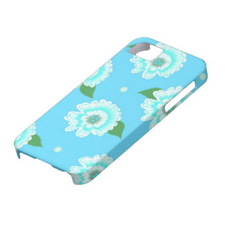 Blooming Blue Floral iPhone SE/5/5s Case