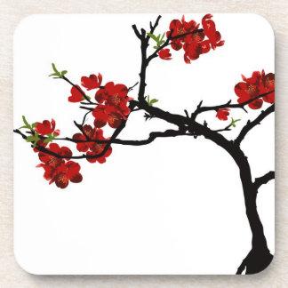 Blooming Bonsai Cork Coaster