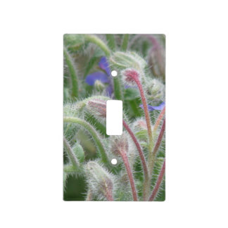 Blooming Borage Light Switch Plate
