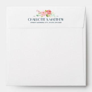 Blooming Botanicals | Square Envelope