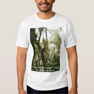 Blooming Bromeliad Outside Grutas de la Estrella T-shirt