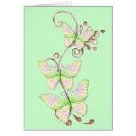 Blooming Butterflies 6 Cards