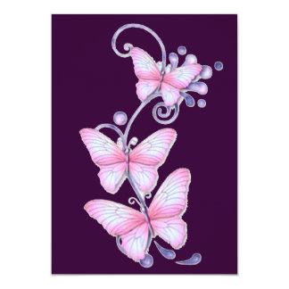 Blooming Butterflies 7 Card