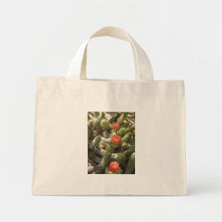 Blooming Cactus Trio Mini Tote Bag