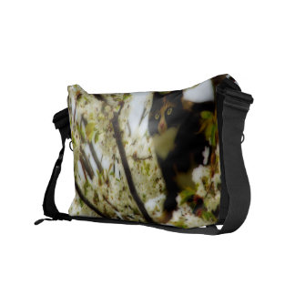 Blooming Cat Courier Bag
