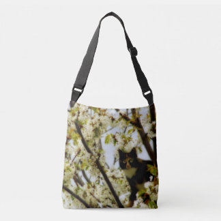 Blooming Cat Crossbody Bag