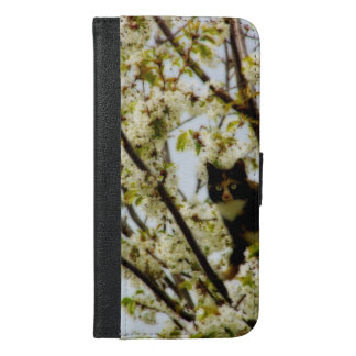 Blooming Cat iPhone 6/6s Plus Wallet Case